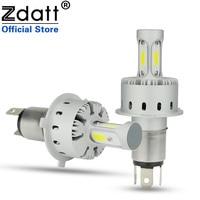 Zdatt 2Pcs Super Bright H4 Led Bulb 90W 12000Lm Car Led Headlight H7 H8 H9 H11