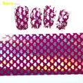 1 pcs Sliver amor estilo coração Nail Art folha de transferência adesivo dica Nails decoração New Design de moda STZXK52