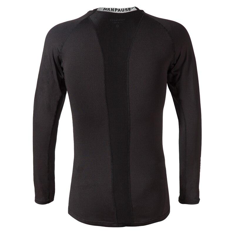 Nueva llegada KANPAUSE Camiseta de entrenamiento de compresión de - Ropa deportiva y accesorios - foto 2
