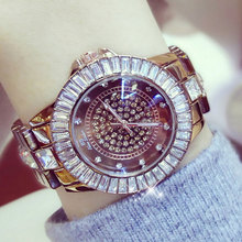 hot deal buy brand new fashion quartz-watch women dress watches reloj mujer 2017 luxury gold crystal ladies wristwatch montre femme