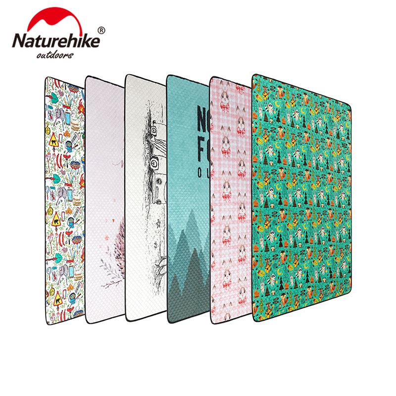 Naturehike Outdoor Picnic Mat Water resistant Portable Beach Mat Folding Camping Mat 660g Moisture proof Blanket