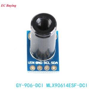 Image 3 - MLX90614ESF DCI Capteur Module MLX90614 Infrarouge Température Capteurs GY 906 DCI IIC Connecteur Longue Distance Électronique DIY PCB