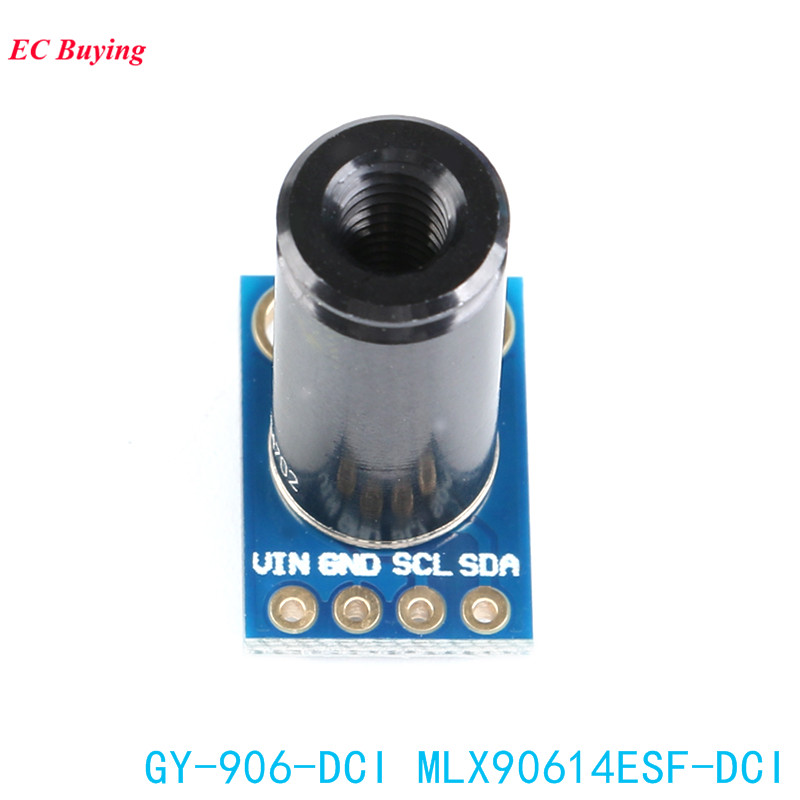 Image 3 - MLX90614ESF DCI Sensor Module MLX90614 Infrared Temperature Sensors GY 906 DCI IIC Connector Long Distance Electronic DIY PCB-in Integrated Circuits from Electronic Components & Supplies