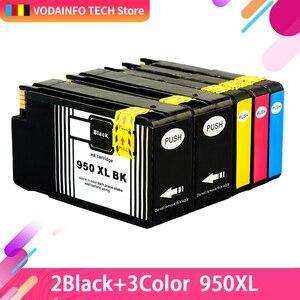 QSYRAINBOW compatible ink cartridge Replacement for hp950 hp951 Compatible for hp8600 hp8610 hp8615 printer cartridge 950