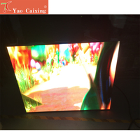 Outdoor hd P4 rgb waterproof smd 1024*768mm aluminum cabinet display led matrix hub75 led display led digital tv screen