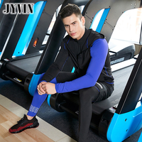 4PCS Sportswear Suits GYM Tights Sports Men's Compression Training Clothes Suits Workout Jogging Sports Clothing TracksuitDryFit