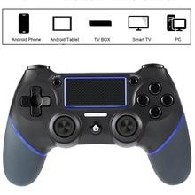 NOVO Gamepad Joystick Para Playstation 4 Consola PC Laptop Computador Jogo Pega Controlador de Jogos para PS4 Controlador PK S3 T3