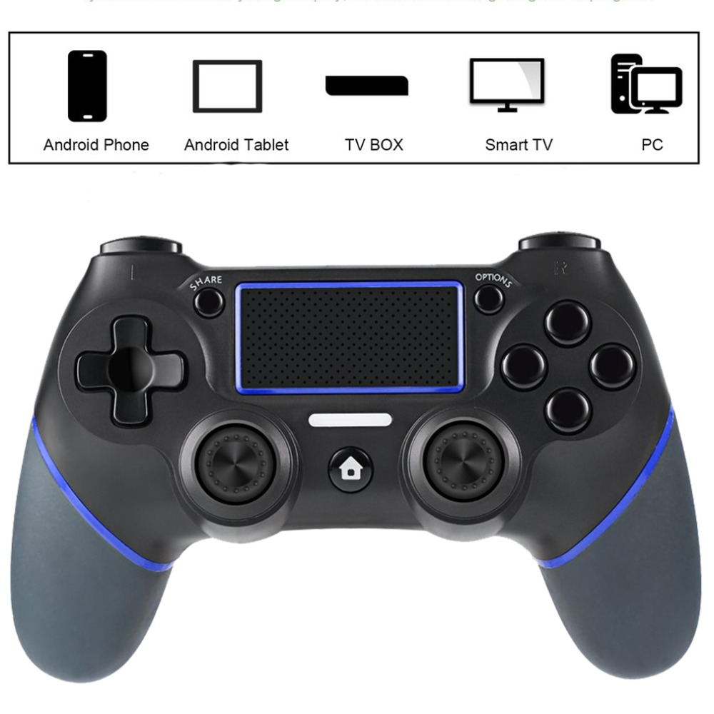NEW Gamepad Joystick For Playstation 4 Console PC Laptop Computer Play Gaming Controller ...