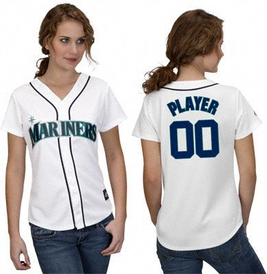 953e0da6eb7 Customized Seattle Mariners womens jersey custom baseball jersey  Personalized shirt ANY NAME all Stitched best by dr china S XXL-in Baseball  Jerseys from ...