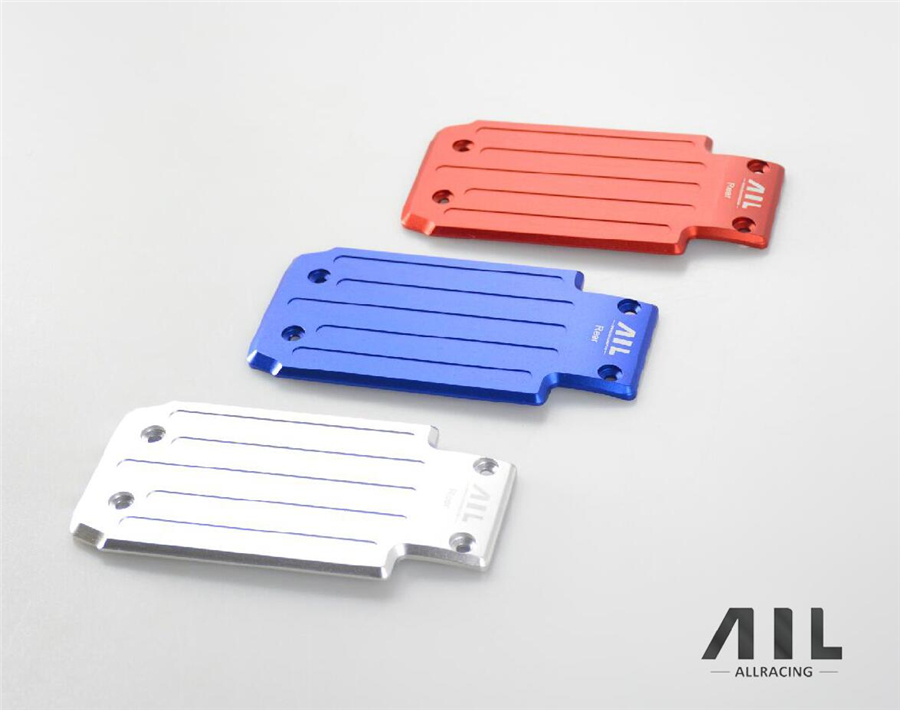 ALLRC 6061-t6 CNC Aluminum alloy Optional upgrade Metal Chassis front protection board for traxxas X-xmaxx rc car parts traxxas x maxx upgrade spare part stainless steel metal chassis protection plate