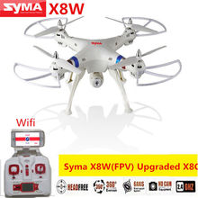 Syma X8W BIG PROFESSIONAL DRONES 2.4G 4CH 6-Axis Venture 2MP Wide Angle Camera RC Drone RC Quadcopter RTF RC Helicopter