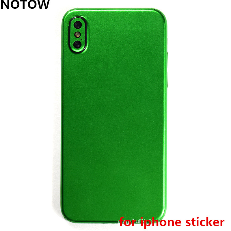 NOTOW fashion DIY <font><b>Changing</b></font> <font><b>color</b></font> skins film wrap skin mobile back protective sticker for <font><b>iphone</b></font> 5 5s 6 6plus 7 7plus <font><b>8</b></font> 8plus X image