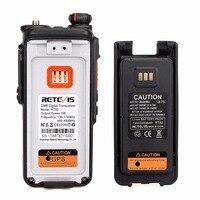 מכשיר הקשר Retevis RT82 GPS Dual Band DMR רדיו מכשיר הקשר דיגיטלי DCDM TDMA IP67 Waterproof שני הדרך רדיו Comunicador (5)