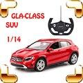 Presente de Ano novo 1/14 Mercedes GLA-CLASS RC do Controle de Rádio Carro SUV modelo Jeep Motor Do Veículo Em Movimento Brinquedo Para Meninos Presentes Do Favor Do Piloto