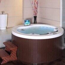 Горячая 5 человек спа ванны Сделано в Китае люкс уличная вихревая Ванна роскошный Сделано в Китае