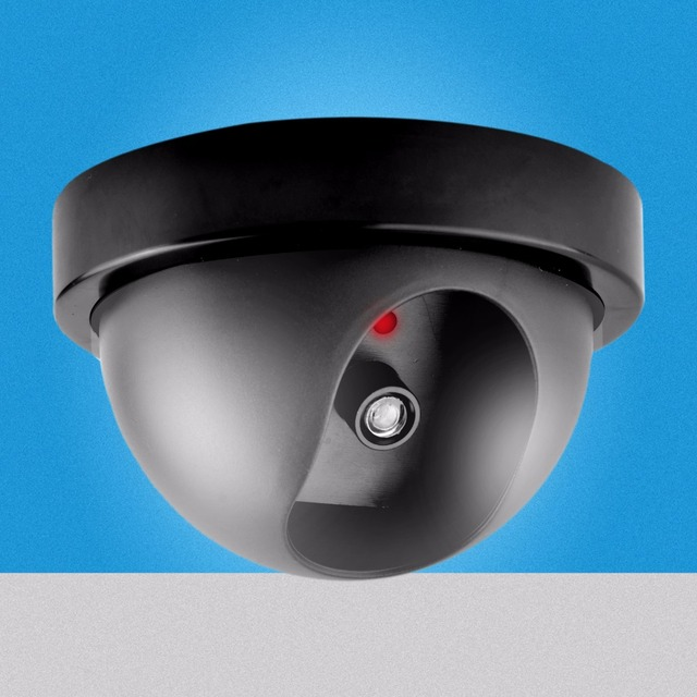 New Model Lowest price Outdoor Waterproof IR CCTV Dummy Dome of the LED fake Surveillance security camera