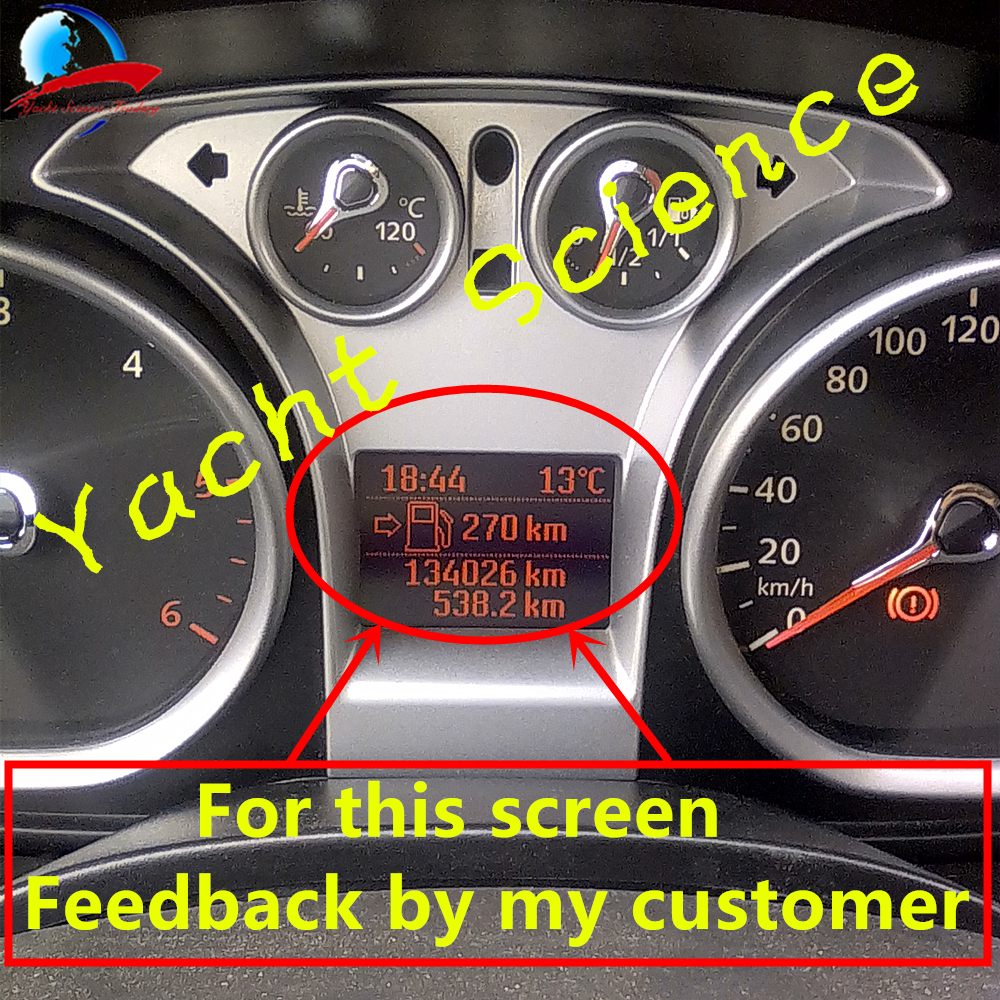 Us 66 0 Instrument Cluster Replacement Vdo Dashboard Lcd Screen Display Pixel Repair For Ford Focus 2008 2011 C Max Galaxy Kuga In Car