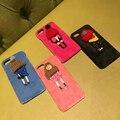 Стильный Милые Плюшевые Игрушки Дизайн Живой Ребенок Hat Чехол Для Телефона для iPhone 6 s 6 Plus 7 7 Плюс