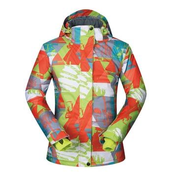 Jacket Women Ski Brands 2019 New High Quality Winter Snow Coat LC Clothes Female Windproof Waterproof Snowboard Women Jacket