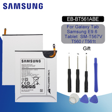 SAMSUNG EB-BT561ABE Original Replacement Tablet Battery 5000mAh For Samsung Galaxy Tab E SM-T560 T560 T561 Li-ion Battery + Tool original samsung galaxy tab e t377a wifi 4g at