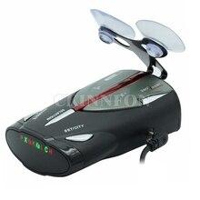 DHL 10 шт. Led 16-Band Cobra XRS 9880 автомобильный детектор радара русский и английский язык Lacer Анти радар детектор для вождения