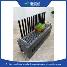 低価格マルチ sim 16 ポート gsm モデム、 antecheng 新質量デバイスで MTK M35 gsm モデムコマンド IMEI 変更