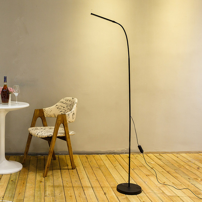 Modern Eye Protection LED Floor Lamp Dimmable Stand Lights