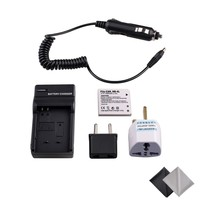 Battery And Charger Kit For Canon NB 4L CB 2LV Work With Canon PowerShot SD40 SD30