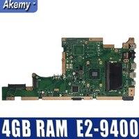 X505BA 노트북 마더 보드 For Asus X505B X505BA X505BP 메인 보드 100% 테스트 4GB RAM E2-9400 CPU