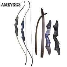 1set Archery 60 inch Recurve Bow Takedown 30-60lbs Adult Shooting Sports Hunting Right Hand Outdoor Accessories