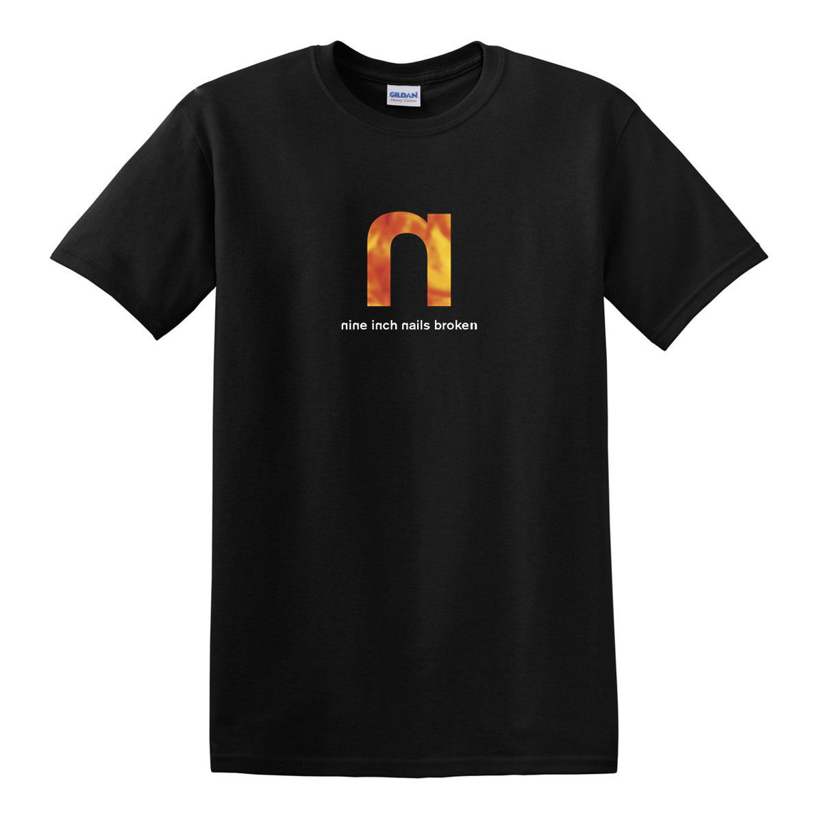 Nine Inch Nails Broken T Shirt 1992 Industrial Rock, Industrial ...