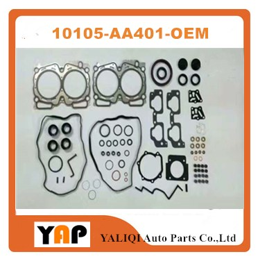 EJ25 Overhaul Gasket Kit Engine FOR FITSUBARU Impreza Forester Legacy Outback EJ25 2.5L L4 10105-AA401 10105AA401 1997-1999