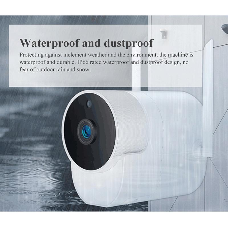 Image 3 - Xiaovv Outdoor Panoramic Camera Waterproof Surveillance Camera  Wireless WIFI High definition Night vision360° Video Camera   -