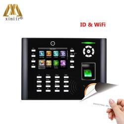 Отпечатков пальцев система учёта времени IClock680/660 С Wi Fi двери управление доступом Оптический сенсор RFID карты офис устройства