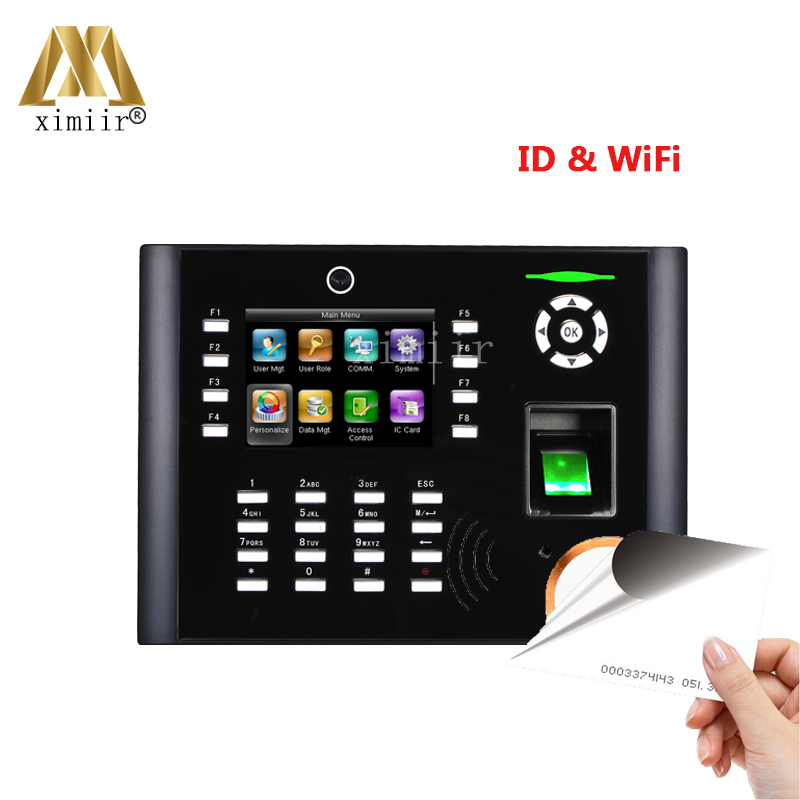 Fingerprint Time Attendance System IClock680/660 With WiFi Door Access Control Optical Sensor With RFID Card Office Device