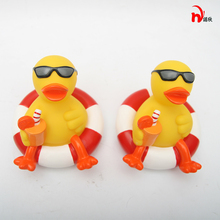 2pcs Yellow Rubber Ducky Duck Baby Bath font b Toys b font Classic Bathing Bath font