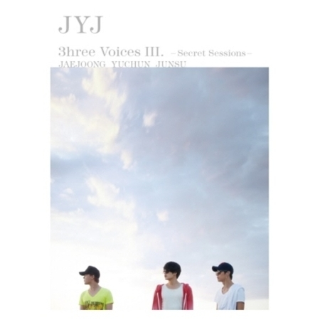 JYJ 3HREE VOICES III -SECRET SESSIONS -[RE-RELEASE] (2Disc +  Poster (on pack)) RELEASE DATE 2014-08-25 KOREA KPOP bigbang seungri 2nd mini album let s talk about love random cover booklet release date 2013 08 21 kpop