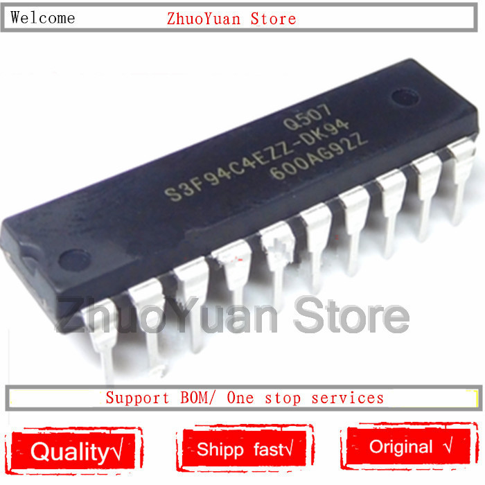 1PCS/lot 100% New Original S3F94C4EZZ-DK94 S3F94C4EZZ DIP-20 IC Chip New Original In Stock
