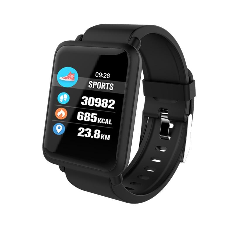 купить NEW Smart Watch Bracelet M28 heart rate fitness Bracelet blood pressure oxygen monitor pedometer movement tracker smart Bracelet по цене 1835.25 рублей