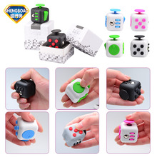 2017 New Mini Fidget Cube Toys Vinyl Keys Fidget Toy EDC Magic Cubes Original Quality  to Relieve Anxiety  ADHD  Stress
