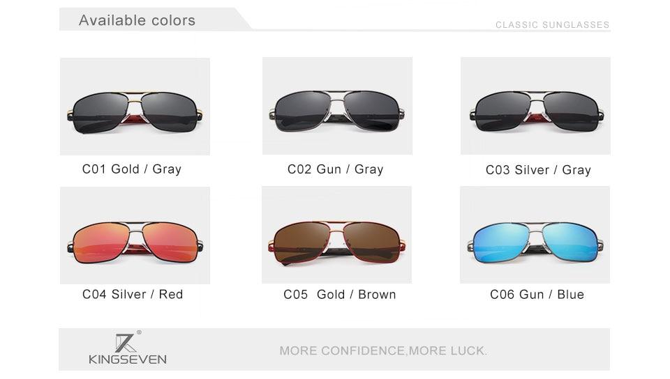 HTB1SfHbomfD8KJjSszhq6zIJFXaH GIFTINGER 2020 Brand Men Aluminum Sunglasses HD Polarized UV400 Mirror Male Sun Glasses Women For Men Oculos de sol N724