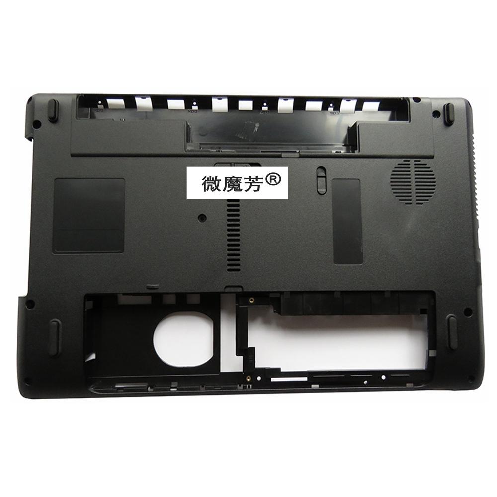 NEW Laptop Bottom Base Cove For ACER 5252 5253 5336 5552 5552G 5736 5736G 5736Z 5742 5742Z New Black D case wholesale for acer aspire 5736z 5736 5336 motherboard la 6631p 100% work perfect