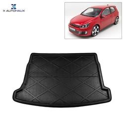 X AUTOHAUX Автомобильный задний багажник напольный коврик грузовой загрузки лайнер ковер лоток для VW Golf 6 2009-2013