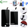"1/Piece For iPhone 6 LCD Display + Touch Screen Digitizer Assembly White,Black color 4.7"" LCD screen"