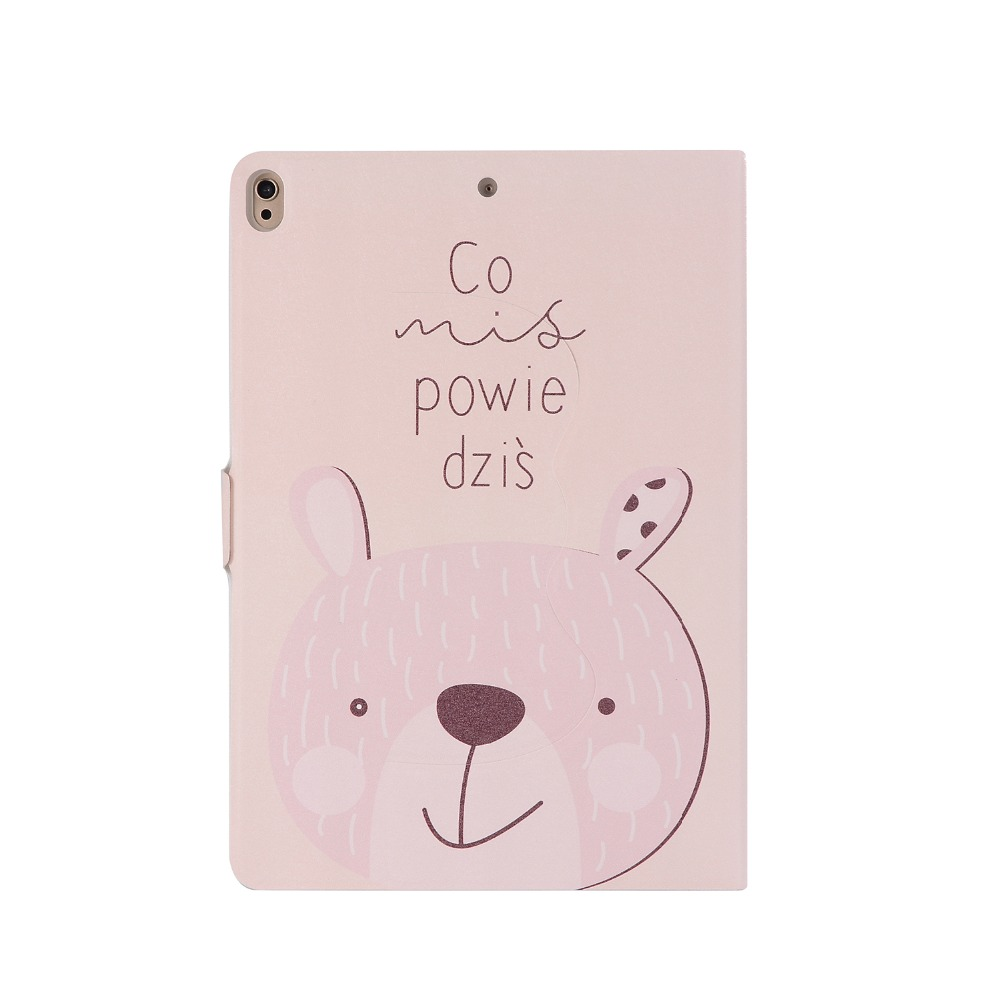 Case For Ipad Pro 10.5 Released In 2017, Cartoon Painted Smart Sleep Wake Up Rotating TPU Soft Cover Stand Leather Shell