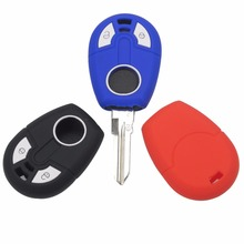 цены New Replacement Silicone Key Case Cover Case For Fiat transponder Key Brazil Positron 2 Buttons Remote Key