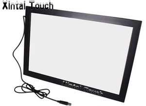 Image 1 - 32 дюймовая ИК сенсорная панель без стекла/10 точечная Интерактивная рамка сенсорного экрана с быстрой доставкой