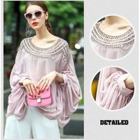 2018 Women Summer Tops High Quality Plus Size Ruffle Blouse Blouses Casual Top Streetwear Beach Ladies Vintage Boho Shirts