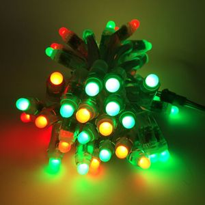 Image 2 - Optional Quantity WS2811 Led Pixel Module 12mm IP68 Waterproof DC 5V Full Color RGB String Christmas LED Light Fast Ship
