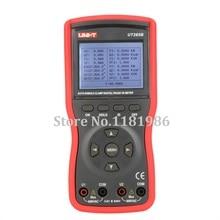 UNI-T UT265B Auto Double Clamp Digital Phase Meter VA Volt Ammeter Power Factor Tester Power Meter w/FRS-232 & LCD Backlight ls123 uv power meter tester spectral wavelength power meter 260nm 380nm